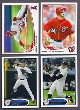 2012 2013 2014 2015 2016 2017 TOPPS LOT COMPLETE YOUR SET WITH 20 PICKS