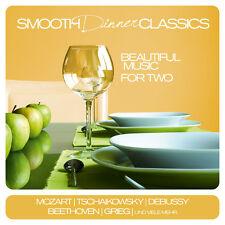 Klassik CD Smooth Dinner Clásicos de Varios Artistas 2CDs