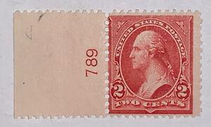 Travelstamps: US Stamps Scott #279b Mint OG NH 2c Washington Numbered Single