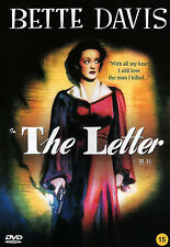 The Letter / William Wyler, Bette Davis, Herbert Marshall, 1940 / NEW