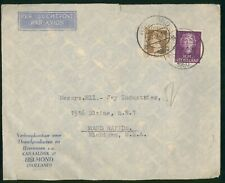 Mayfairstamps Netherlands 1950 Helmond to Jay Industries Queen Combo Cover wwr_1