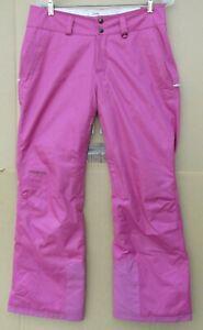 Patagonia Women's Magenta/Pink Insulated Snow Ski Pants Size Medium