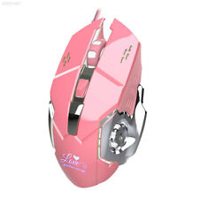 3200DPI Optical USB Gaming Mouse 6 Button Gamer Laptop PC Computer Mice Pink