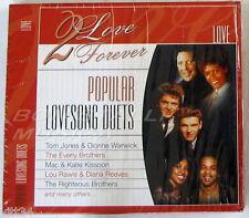 VARIOUS - 2 Love Forever - POPULAR LOVE SONG DUETS - CD Sigillato
