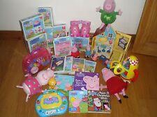 Molto grande Bundle OF PEPPA giocattoli ecc. PIG