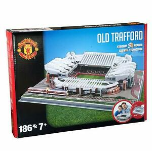 MANCHESTER UNITED Stadium OLD TRAFFORD 3D Puzzle Football Soccer Game Toy