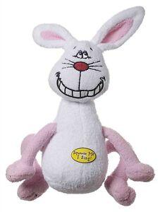 Multipet Deedle Dude Singing Rabbit Plush Dog Toy free Shipping