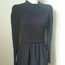 Oscar de la Renta little black dress long sleeve size 0