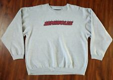 Florida State Seminoles Crewneck Sz 2XL College Sweater VTG Gears For Sports