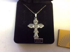 Taxco Sterling Cross Pendant