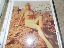 DONNA MILLS HAND SIGNED PHOTOGRAPH
