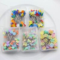 Sewing Tool Needle Pins 100 Pcs/Lot Mixed Colors Knitting Patchwork Useful Tools