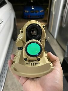 AN/PSQ-20 ENVG THERMAL OPTIC With Extras ENHANCED NIGHT VISION GOGGLES Military
