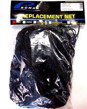 "Promar Replacement Fishing Net 46"" Deep, 1-1/2"" Mesh, 40"" dia Frame, Black Poly"