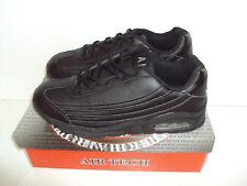 Nuevas Zapatillas con Cordones para Hombre Airtech Entrenadores Zapatos Negros Casuales Talla 7 8 9 10 11 12