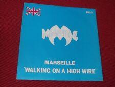 """Marseille:   Walking on a high wire    1984   EX  NWOBHM    7"""""""