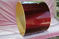 """PEARL EXPORT SERIES 22"""" WINE RED BASS DRUM SHELL for YOUR SET!! LOT #S445"""