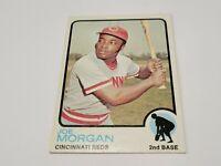 1973 TOPPS Set Break #230 JOE MORGAN REDS HOF NM+
