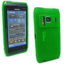 NEW Green Jelly Case Cover Gel Skin for Nokia N8 + SP