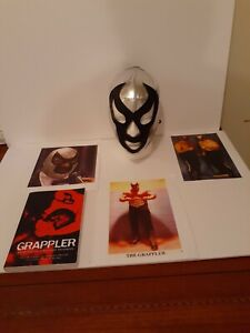 Wrestling Grappler Book Memoirs Of A Masked Madman Mask Pics Personal Autograph
