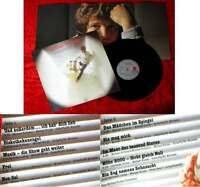 LP Michael Schanze: Das neue Album (Ariola 201 164-365) mit Poster