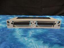 Agilent HP Terminal Block 34925T Opt 001 80 Ch FET MUX ...TESTED