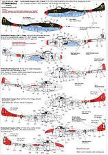 Xtra Decals 1/72 DE HAVILLAND VAMPIRE T.55 Overseas Operators Part 1