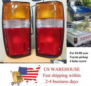 TAIL REAR LIGHT LAMP FOR 84 85 86 87 88 TOYOTA HILUX MK2 LN65 YN65 2/4WD PICKUP