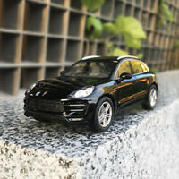 Minichamps Black Porsche Macan Turbo 1:43 Scale Car Model Collection Gift