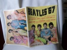 THE BEATLES '67 SGT. PEPPERS SOUVENIR SHEET MUSIC BOOK 52 PAGES WORDS AND NOTES
