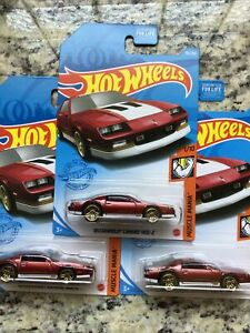 2021 Hot Wheels '85 Chevy Camaro IROC-Z~lot of 3~FREE SHIPPING in the US!