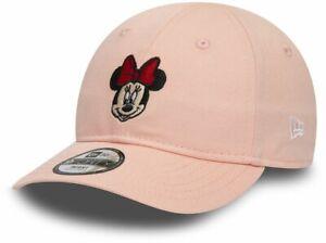 Minnie Mouse New Era 940 Disney Infants Pink Baseball Cap (0-2 years)