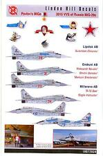 Linden Hill Decals 1/72 PAVLOV'S MiGs 2015 Russian MiG-29 Fulcrum Fighters