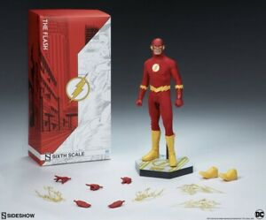 DC Comics 1/6 Scale The Flash Figure Sideshow Collectibles 100237