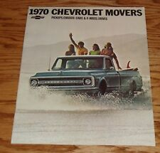 Original 1970 Chevrolet Pickup Chassis-Cab 4-Wheel Drive Sales Brochure 70