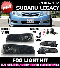 10 11 12 SUBARU LEGACY sedan Fog Light Driving Lamp Kit w/ switch wiring (CLEAR)