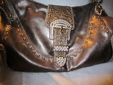 Kathy Van  Zeeland Handbag with Bling