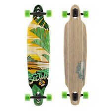 "Sector 9 Lookout Bamboo Drop Thru 2017 Complete Longboard 9.625"" X 41.125"""