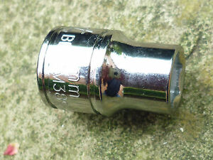 """BLUE POINT 9mm SHALLOW SOCKET, 3/8"""" DRIVE, 6 POINT, SOLD BY SNAP ON, NEW"""