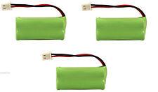 3 Vtech At&t Phone Battery 700mAh NiMH for CS6124-2 CS61242 CS6124-21 CS612421