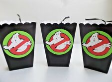Ghostbusters Party Favor/ Goody Bags/ Sweet Table Candy/ popcorn box SET OF 10