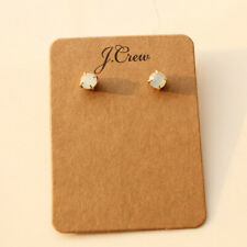 New Jcrew 7mm Rhinestone Stud Earrings Gift Fashion Women Party Holiday Jewelry