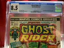 Ghost Rider #7, CGC 8.5, Marvel Comics ,1974 MCU