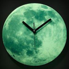 Mondlicht Mond Uhr leuchtet im Dunkeln