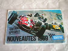 Vintage Scalextric Catalogue french Special Edition 1969