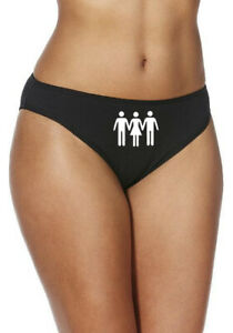 Threesome Thong, Briefs, Shorts Erotic Swinger Hotwife Cuckold Various Colours