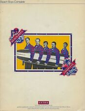 The Beach Boys Complete rare sheet music songbook from 1973