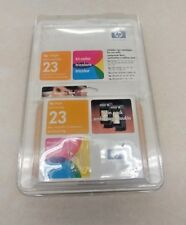 HP ink Jet Print Cartridge 23 - Tri Color - Twin pack - Expired March 2004