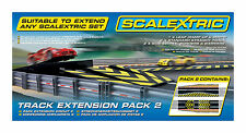 Scalextric Track Extension Pack 2 - 1/32 Scale Slot Car Set C8511