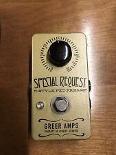 Greer Amps Special Request Pedal